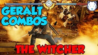 SC6 - Geralt - Combos with inputs