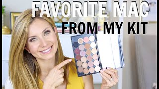 My FAVORITE MAC Eyeshadow And Blush   What I Packed In My Kit