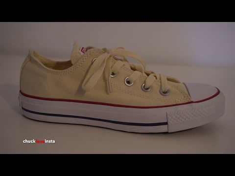 My Sister's Shoes: brand new Converse beige I 4K