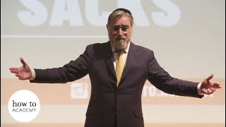 How to Lead a Good Life in Divided Times - Jonathan Sacks