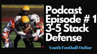 YFO Podcast Episode # 1 | Why Coach Jeff Runs the 3-5 Stack Defense