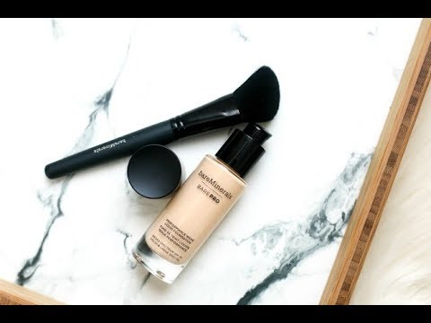 FOUNDATION REVIEW/DEMO: BAREMINERALS BAREPRO LIQUID FOUNDATION+ A LUXURY MASCARA DISAPPOINTMENT