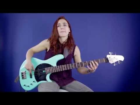 Bass Guitar Lesson - #4 The Diatonic Cycle (Jazz) - Ariane Cap