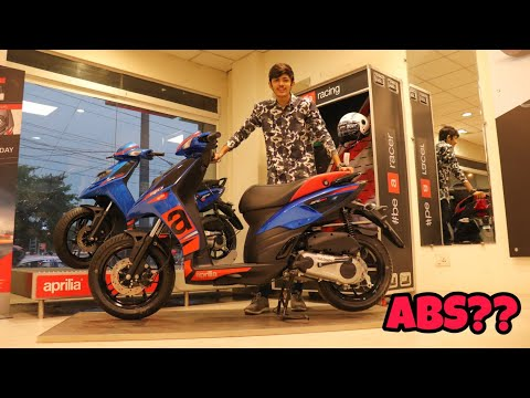 New Aprilia Sr150 With ABS? 2018