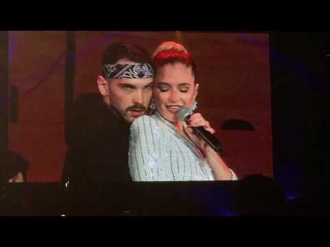 Corazón Vendío - Mireya Bravo single live OT 2017 @ Estadio Santiago Bernabeu Madrid