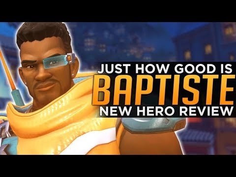 Overwatch: How Good is Baptiste? - Hero 30 Gameplay Review