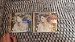 Taylor swift platinum edition comparison walmart vs. target rare