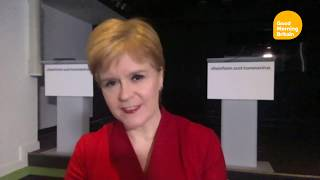 video: Nicola Sturgeon admits it would have been 'easier' to quickly sack her chief medical officer over second home visits
