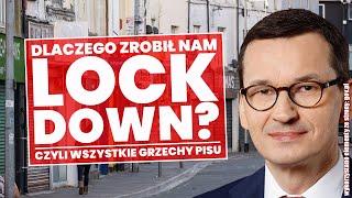 Dlaczego Morawiecki zrobił nam lockdown? Lista zaniedbań PiS!