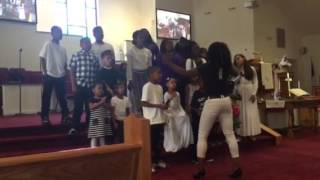Hang On (GEI) Ebenezer Baptist Church  Children's Choir