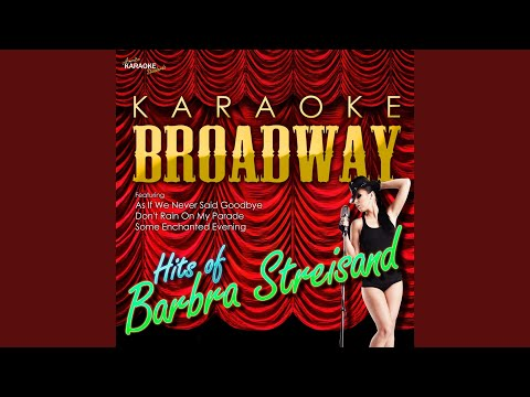I'm the Greatest Star (In the Style of Barbra Streisand) (Karaoke Version)