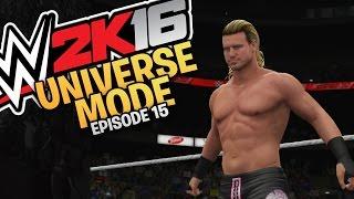 WWE 2K16 Universe Mode: Episode 15 - Monday Night Raw (XBOX One / PS4 Gameplay)