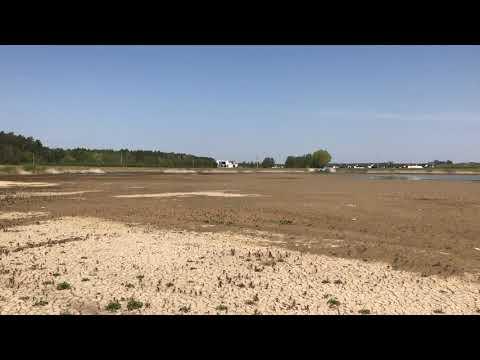 Wideo1: Susza w regionie - zbiornik retencyjny w Rydzynie