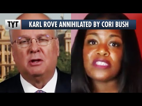 Karl Rove Finds Out Why It's A Bad Idea To Attack Cori Bush