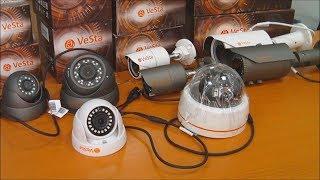 Обзор корпусов камер видеонаблюдения VeSta