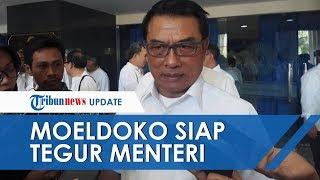 Akui akan Ada Menteri yang Mungkin Melenceng dari Kabinet, Moeldoko: Kalau Mulai Belok, Saya Kencang
