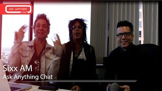 Sixx:A.M. Answers Fan Questions on Sixx Sense - Ask Anything Chat w/ Nikki Sixx ‌‌ - AskAnythingChat