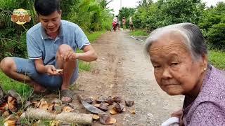 Khương Dừa vượt 100 km từ Sài Gòn về Bến Tre chỉ để ăn dừa nước và cái kết...