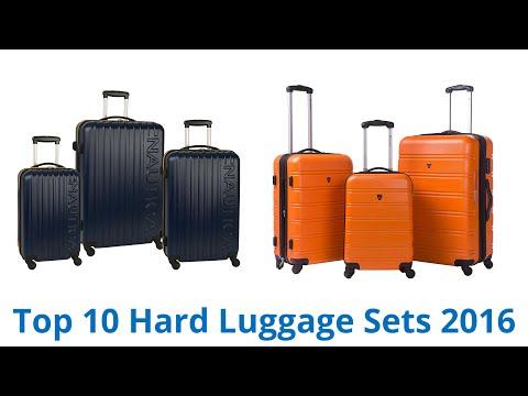 10 Best Hard Luggage Sets 2016