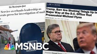 Trump Wielding Presidency Like An Autocrat: To Preserve His Power | Rachel Maddow | MSNBC