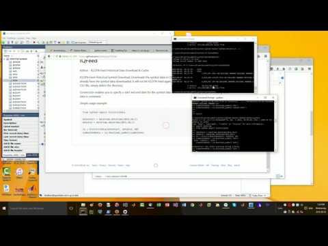Free forex data python