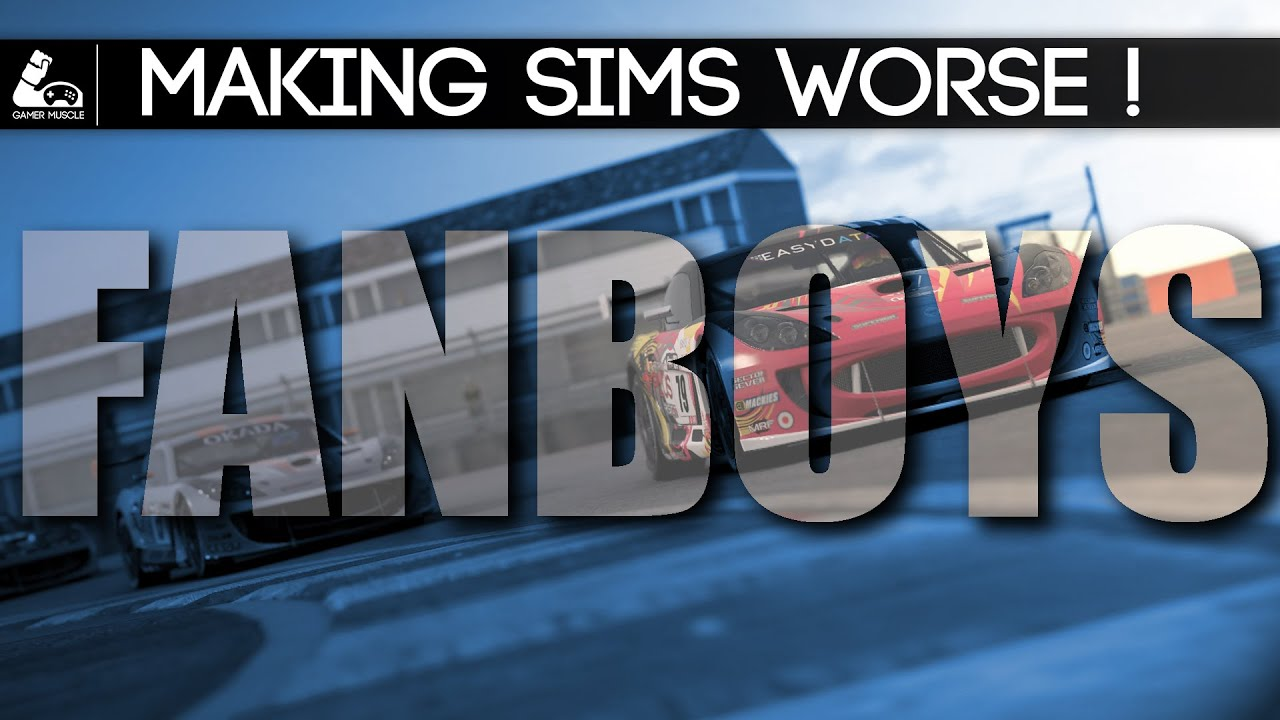 GamerMuscle: Are Fanboys Making Racing Simulators Worse?