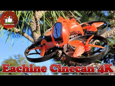 ✔ Компактный и Легкий FPV Квадрокоптер | Eachine Cinecan 4K Cinewhoop!