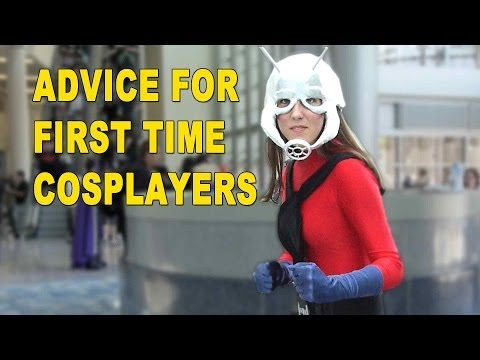 Advice for First Time Cosplayers from Cosplayers
