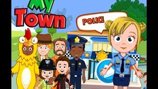 My Town : Police app ios android