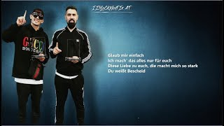 Bushido Ft. Capital Bra   GLAUB MIR (Lyrics 4K) Prod. WWR Beatz