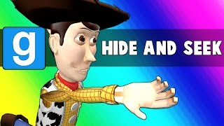 Gmod Hide and Seek - Parkour Gym Edition! (Garry's Mod)