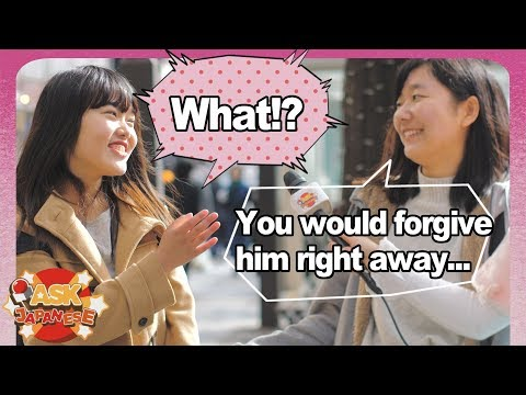 What makes Japanese girls fight with their boyfriend? Japanese girls on dating Japanese boys