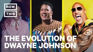 The Evolution of Dwayne 'The Rock' Johnson | NowThis