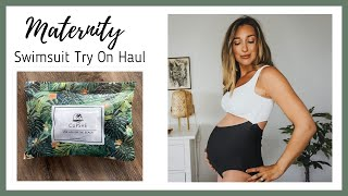 Affordable Swimwear Under $30 | Cupshe | 32 Weeks Pregnant