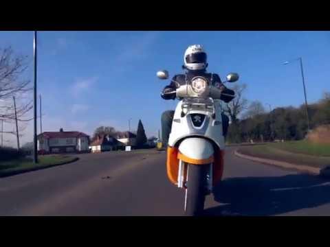 SLUK | Peugeot Django Evasion road test