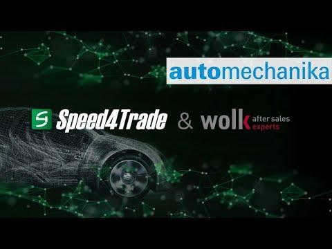Speed4Trade ist vom 11. bis 15. September 2018 auf der Automechanika Frankfurt, der internationalen Leitmesse der Automobilbranche. Sprechen Sie mit den eCommerce-Experten am Messestand F08 in Halle 9.1 über Ihr Digitalisierungsvorhaben und überzeugen Sie sich selbst von den intelligenten Lösungen für den automobilen Aftermarket.