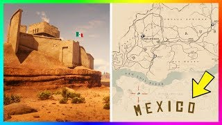 How To Get To MEXICO In Red Dead Redemption 2! (SECRET Part Of The RDR2 Map)