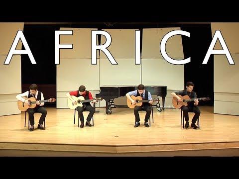 Toto: AFRICA (Guitar Quartet)