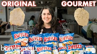 Pastry Chef Attempts to Make Gourmet Ruffles | Gourmet Makes | Bon Appétit