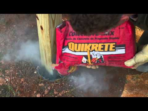 QUIKRETE Fast-Setting Concrete Mix