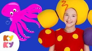 ПОДВОДНАЯ ЛОДКА - КУКУТИКИ - Развивающая песенка мультик для детей, малышей про подводный мир