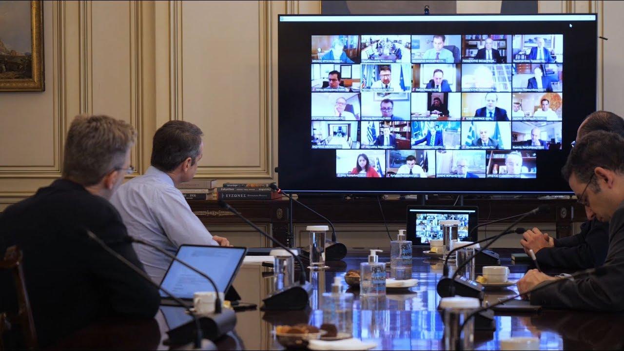 Εισαγωγική τοποθέτηση Κ. Μητσοτάκη κατά την έναρξη της συνεδρίασης του Υπουργικού Συμβουλίου