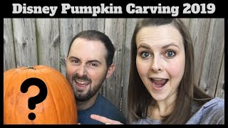 Disney Pumpkin Carving 2019   Which Disney Theme Did We Choose?