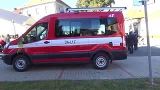 Žehnání nového zásahového vozidla pro SDH Určice