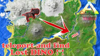 How to find lost dino in ark mobile and teleport them to your base #009
