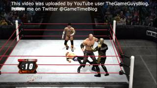 WWE '12: 40-Man Royal Rumble Gameplay