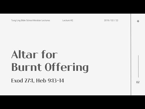 Altar for Burnt Offering