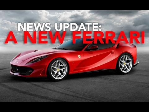 Ferrari 812 Superfast, New Hyundai Accent, and Aston Martin Hypercar: Weekly News Roundup