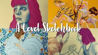 A* A Level Art Exam Sketchbook (Edexcel) 🎨🖌️