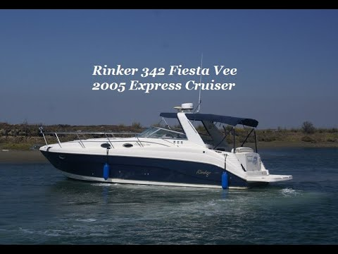 Rinker 342 Express Cruiser video